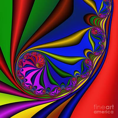 Mandala 209 Art Print by Rolf Bertram