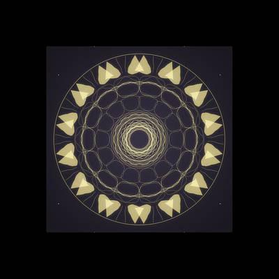 Digital Art - Mandala 3 by Riana Van Staden