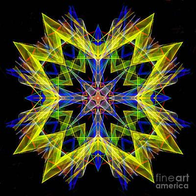 Digital Art - Mandala 3138 by Rafael Salazar