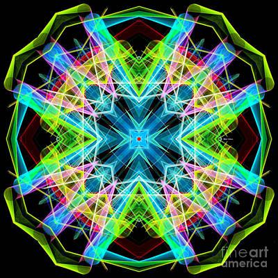 Digital Art - Mandala 3308a  by Rafael Salazar