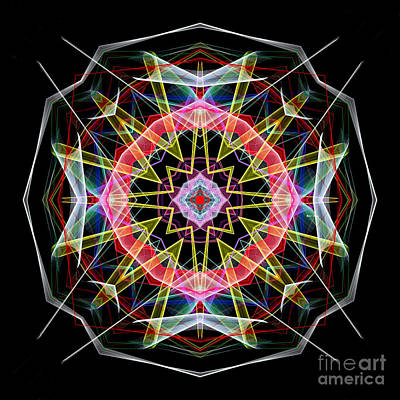 Digital Art - Mandala 3313 by Rafael Salazar