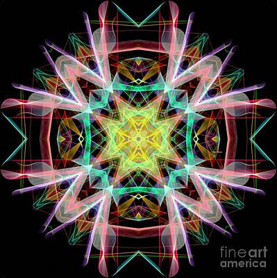 Digital Art - Mandala 3330 by Rafael Salazar