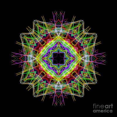 Digital Art - Mandala 3333 by Rafael Salazar
