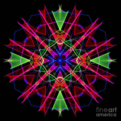 Digital Art - Mandala 3351 by Rafael Salazar