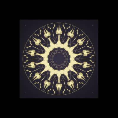 Digital Art - Mandala 4 by Riana Van Staden