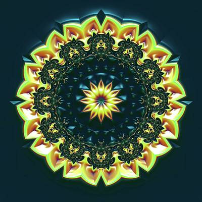 Digital Art - Mandala 467567 by Robert Thalmeier