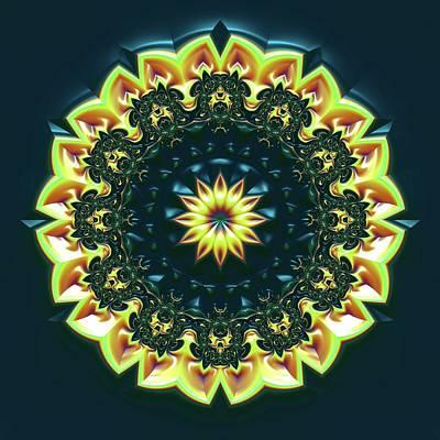 Digital Art - Mandala 467567 by Robert Thalmeier