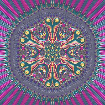 Digital Art - Mandala 467567678 by Robert Thalmeier