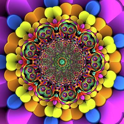 Digital Art - Mandala 46756767856 by Robert Thalmeier