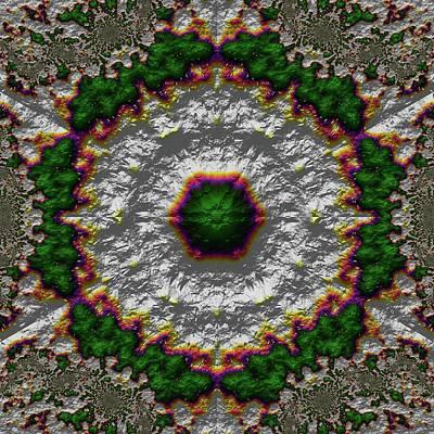 Digital Art - Mandala 467567678975 by Robert Thalmeier