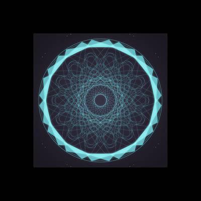 Digital Art - Mandala 5 by Riana Van Staden