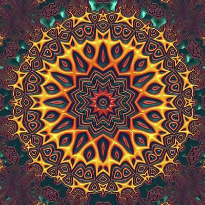 Digital Art - Mandala 574535675 by Robert Thalmeier
