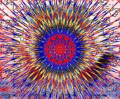 Mandala 7 Art Print by Catherine Lott