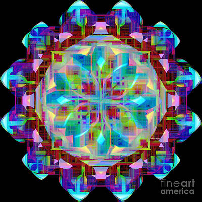 Digital Art - Mandala 9725 by Rafael Salazar