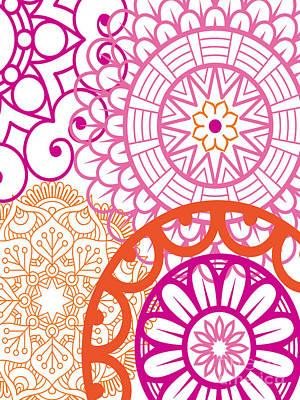 Islam Digital Art - Mandala Decorative Art by Ramneek Narang