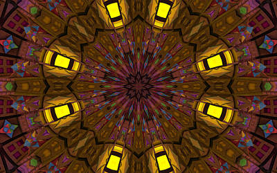 Mandala Design 24 Art Print