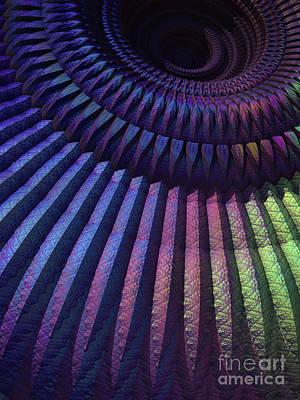 Digital Art - Mandala Details by Lyle Hatch