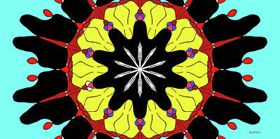 Digital Art - Mandala Einz by Doug Duffey