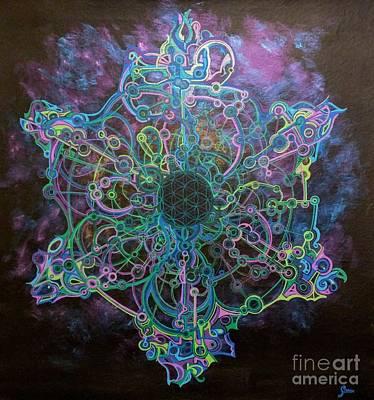Mandala For New Beginnings Original