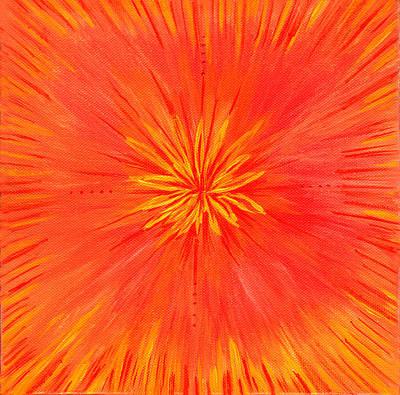 Painting - Mandala For Rebirth by Roger Hanson