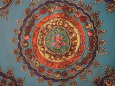 Mandala From India Art Print by Dora Sofia Caputo Photographic Art and Design