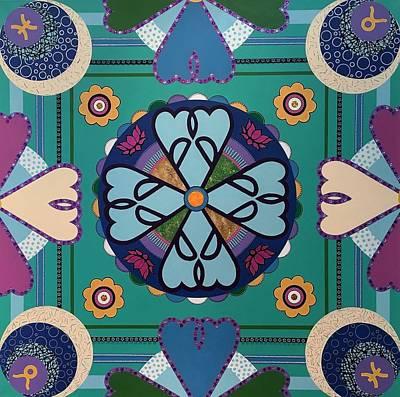 Mandala Original by Ivy Stevens-Gupta