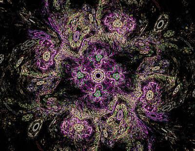 Concentration Digital Art - Mandala Meditation by Mary Raven
