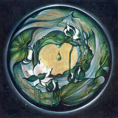 Painting - Mandala Of Regeneration by Anna Ewa Miarczynska