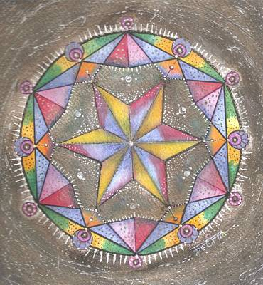 Mixed Media - Mandala by Prerna Poojara