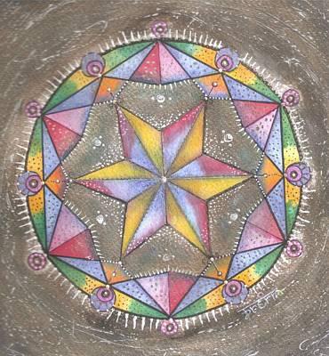Mixed Media - Mandala by Prerna Poojara