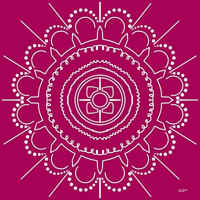Digital Art - Mandala-i by Pratyasha Nithin
