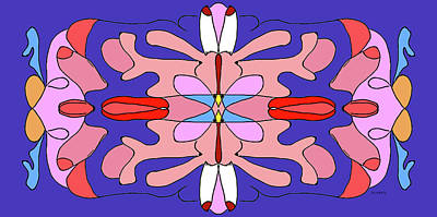 Digital Art - Mandala Sexualis by Doug Duffey