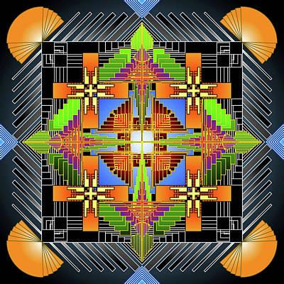 Digital Art - Mandala Supremo by Mario Carini