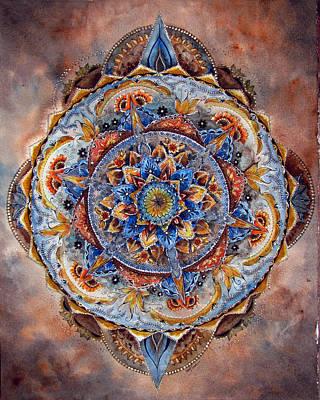 Mandala Earth Original by Susy Soulies