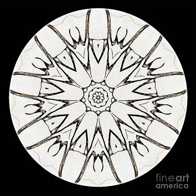 Mandala - Talisman 3779 Art Print