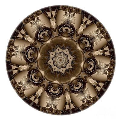 Digital Art - Mandala - Talisman 4306 by Marek Lutek
