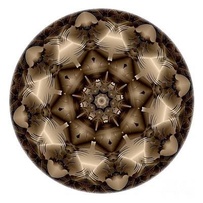 Digital Art - Mandala - Talisman 4308 by Marek Lutek
