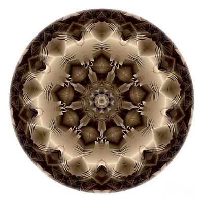 Digital Art - Mandala - Talisman 4310 by Marek Lutek