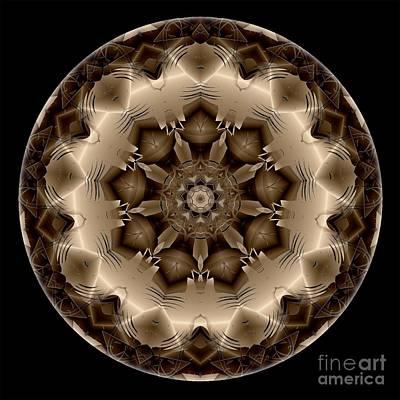 Digital Art - Mandala - Talisman 4311 by Marek Lutek