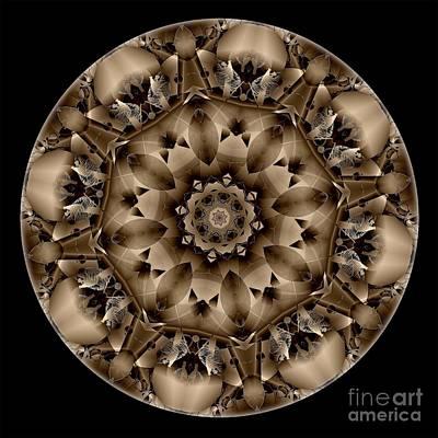 Digital Art - Mandala - Talisman 4313 by Marek Lutek