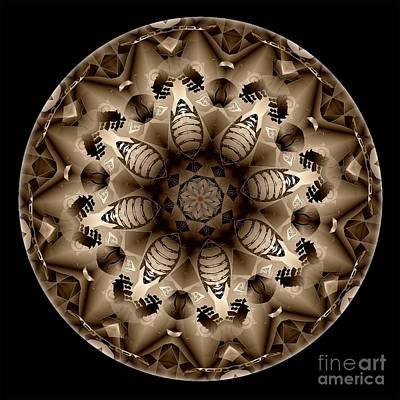 Digital Art - Mandala - Talisman 4319 by Marek Lutek