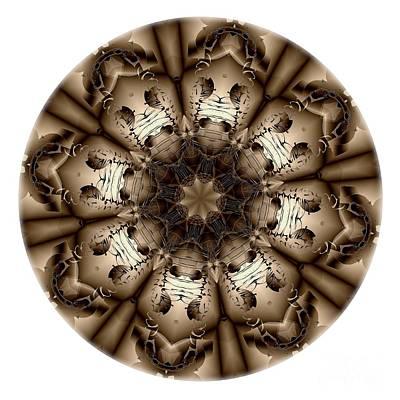 Digital Art - Mandala - Talisman 4320 by Marek Lutek