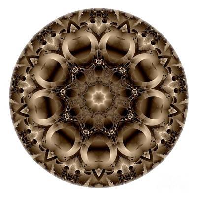 Digital Art - Mandala - Talisman 4326 by Marek Lutek