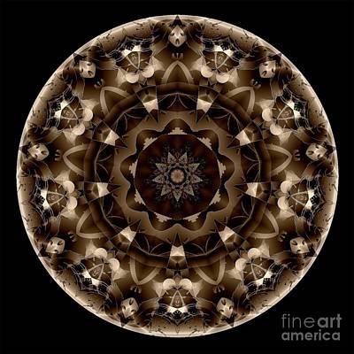 Digital Art - Mandala - Talisman 4331 by Marek Lutek