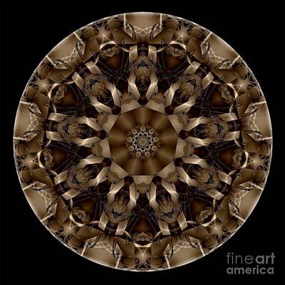 Digital Art - Mandala - Talisman 4333 by Marek Lutek