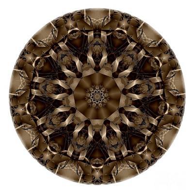 Digital Art - Mandala - Talisman 4336 by Marek Lutek