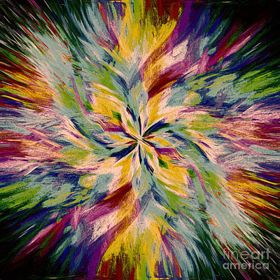 Mandala Twirl 04 Original by Jack Torcello