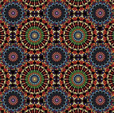 Mandala Wall Original by Mabel De Lemos