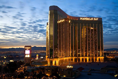 Mandalay Bay Sunrise Art Print by James Marvin Phelps