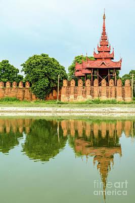 Photograph - Mandalay Citadel 1 by Werner Padarin